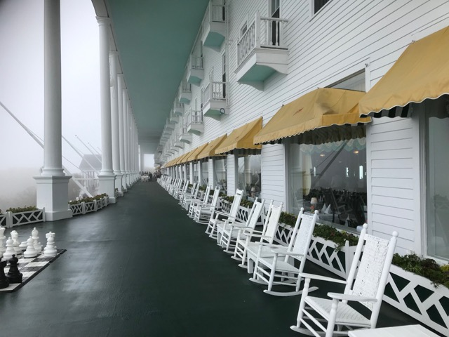 Mackinac Island's Grand Hotel on a Great Lakes VictoryI cruise