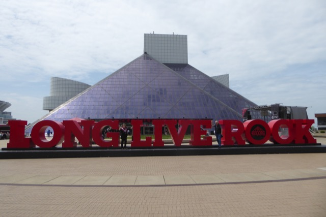 Rock and Roll hall of fame on a Great Lakes Cruise