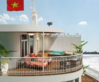 Uniworld's New Ships include the super deluxe Mekong Jewel