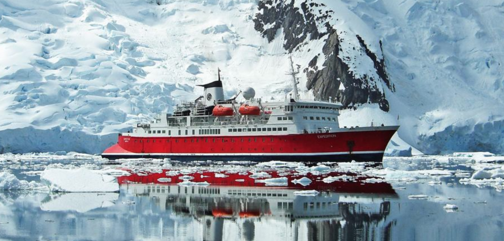 G EXPEDITION in Antarctica