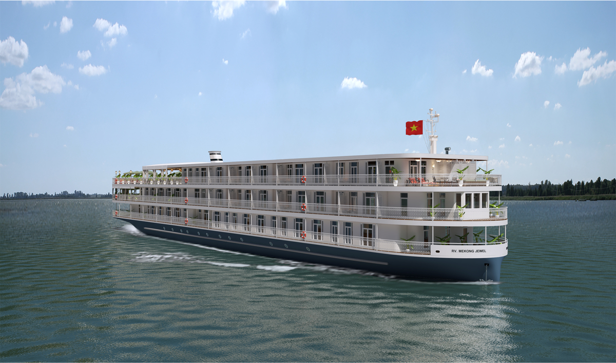 Uniworld's New Ships include Mekong Jewel