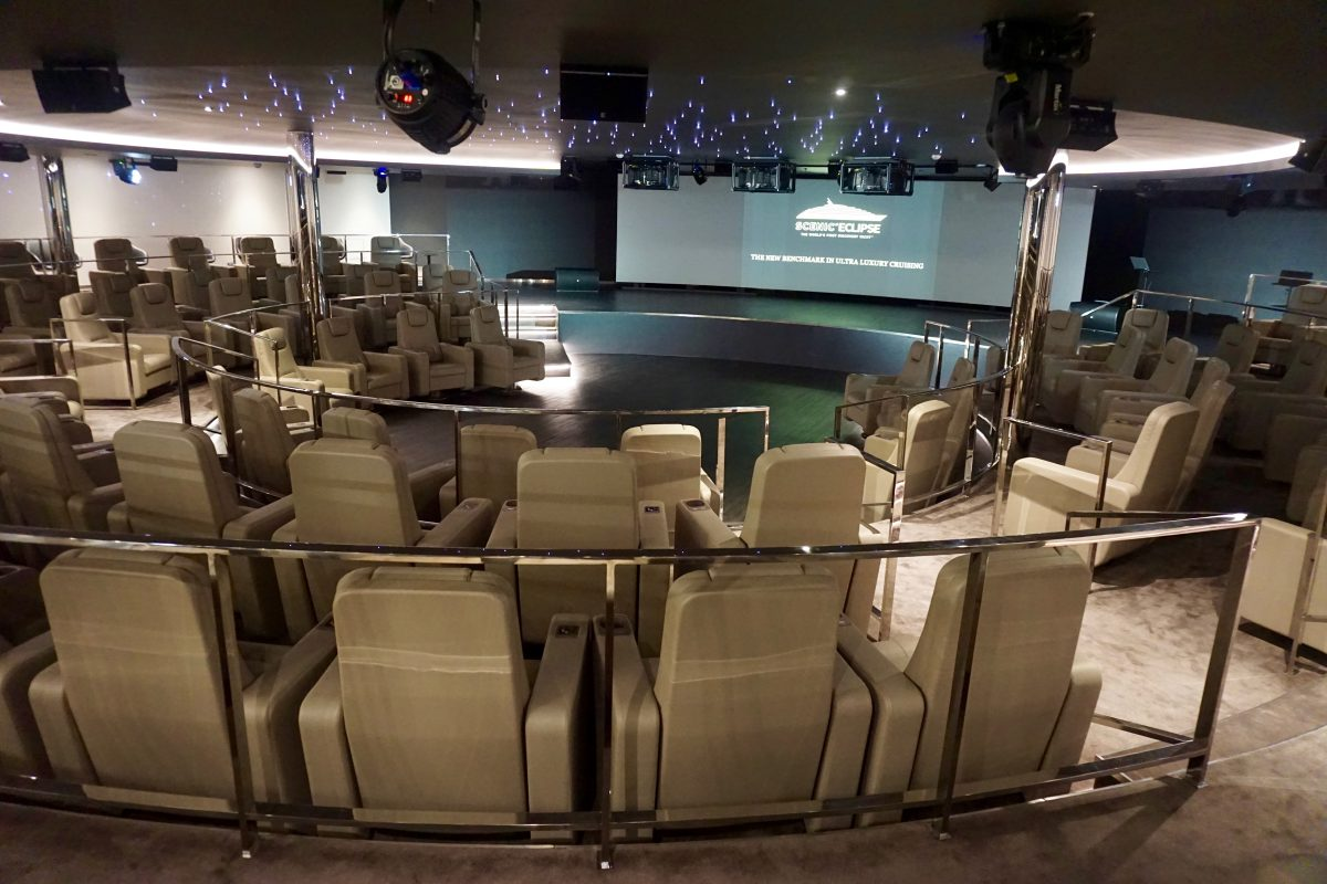 The Theater aboard Scenic Eclipse