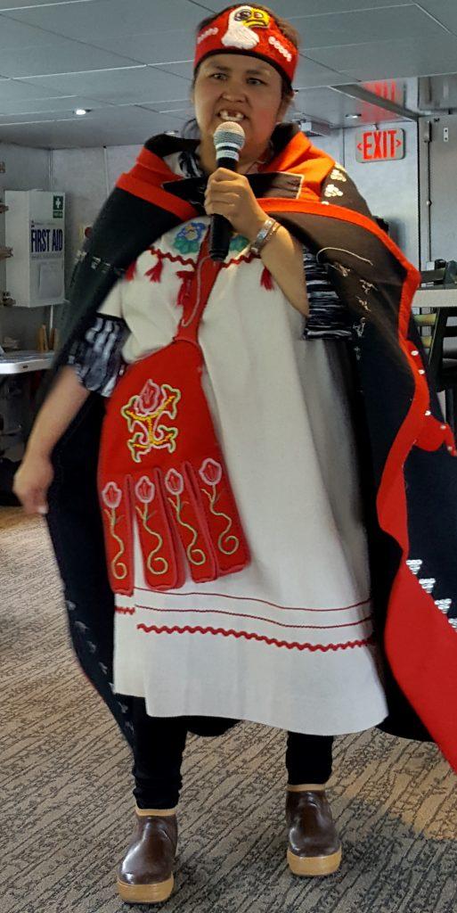 Hoonah Tlingit cultural heritage ambassador in Alaska