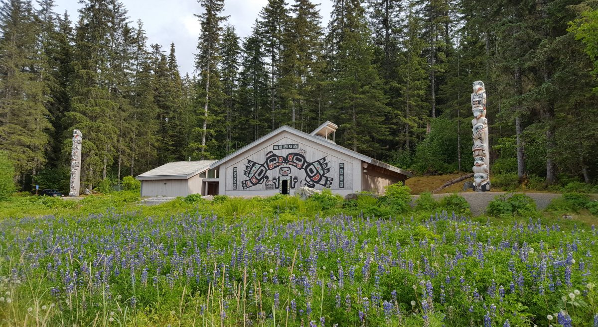 Huna Tribal House, Glacier Bay Lodge, Alaska