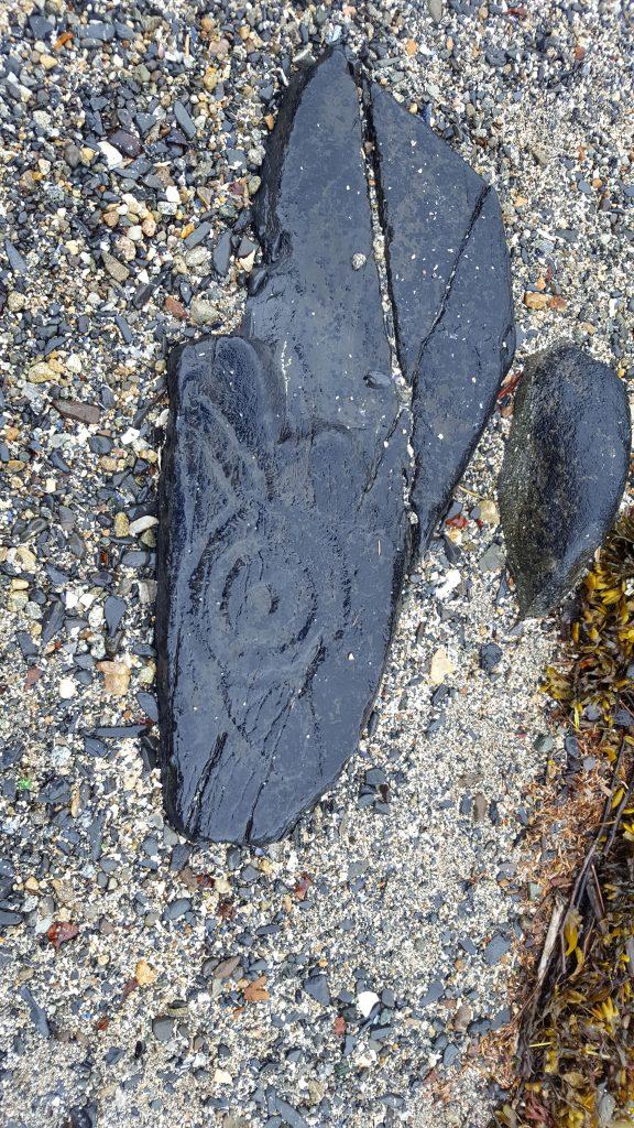 Petroglyphs in Alaska