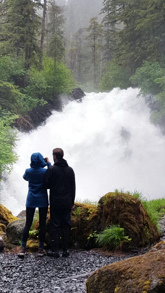Cascade Falls, Thomas Bay, Alaska