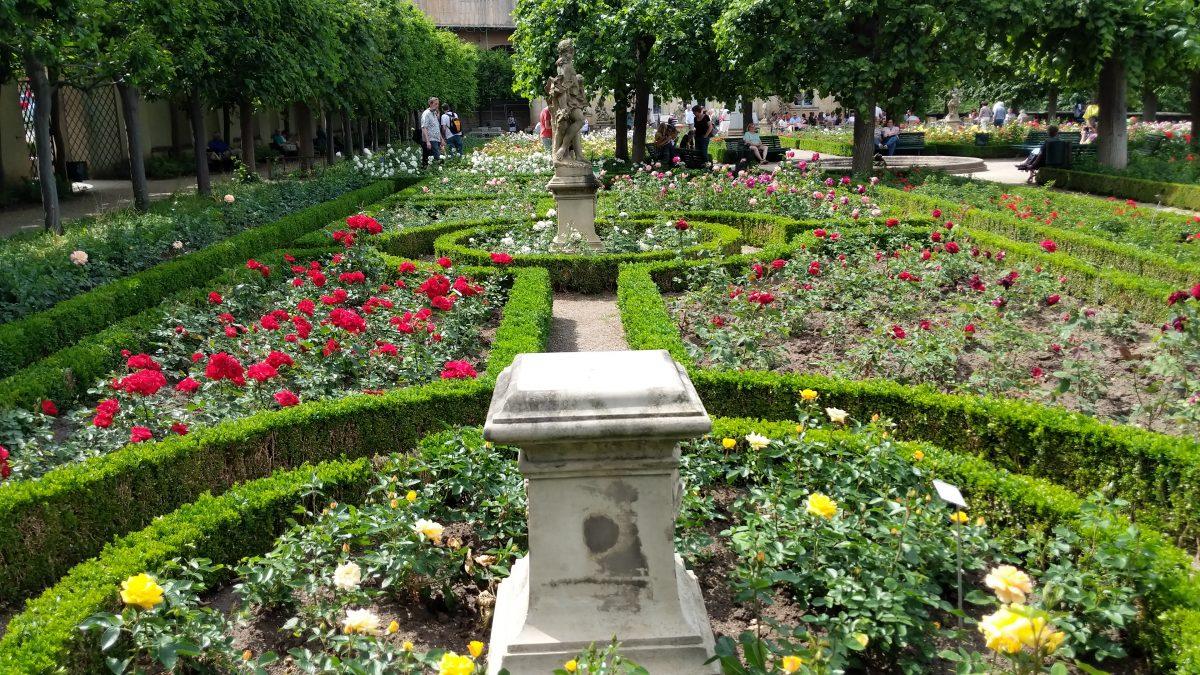 Bamberg's lovely gardens