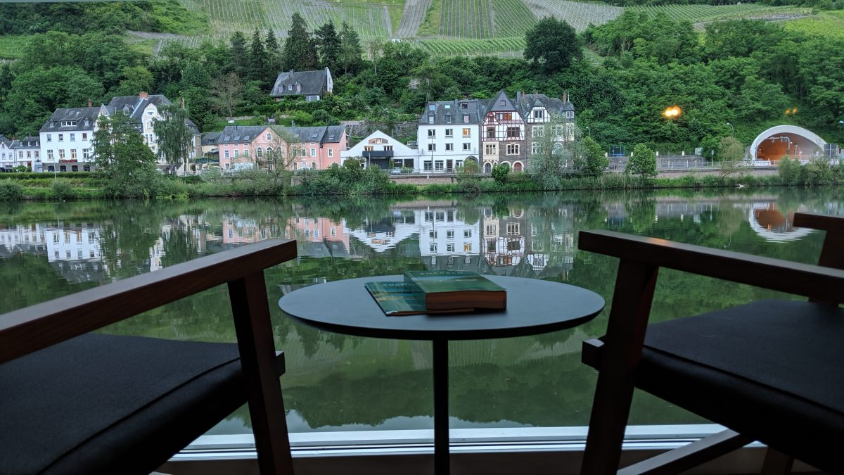 cabin view on European river cruises