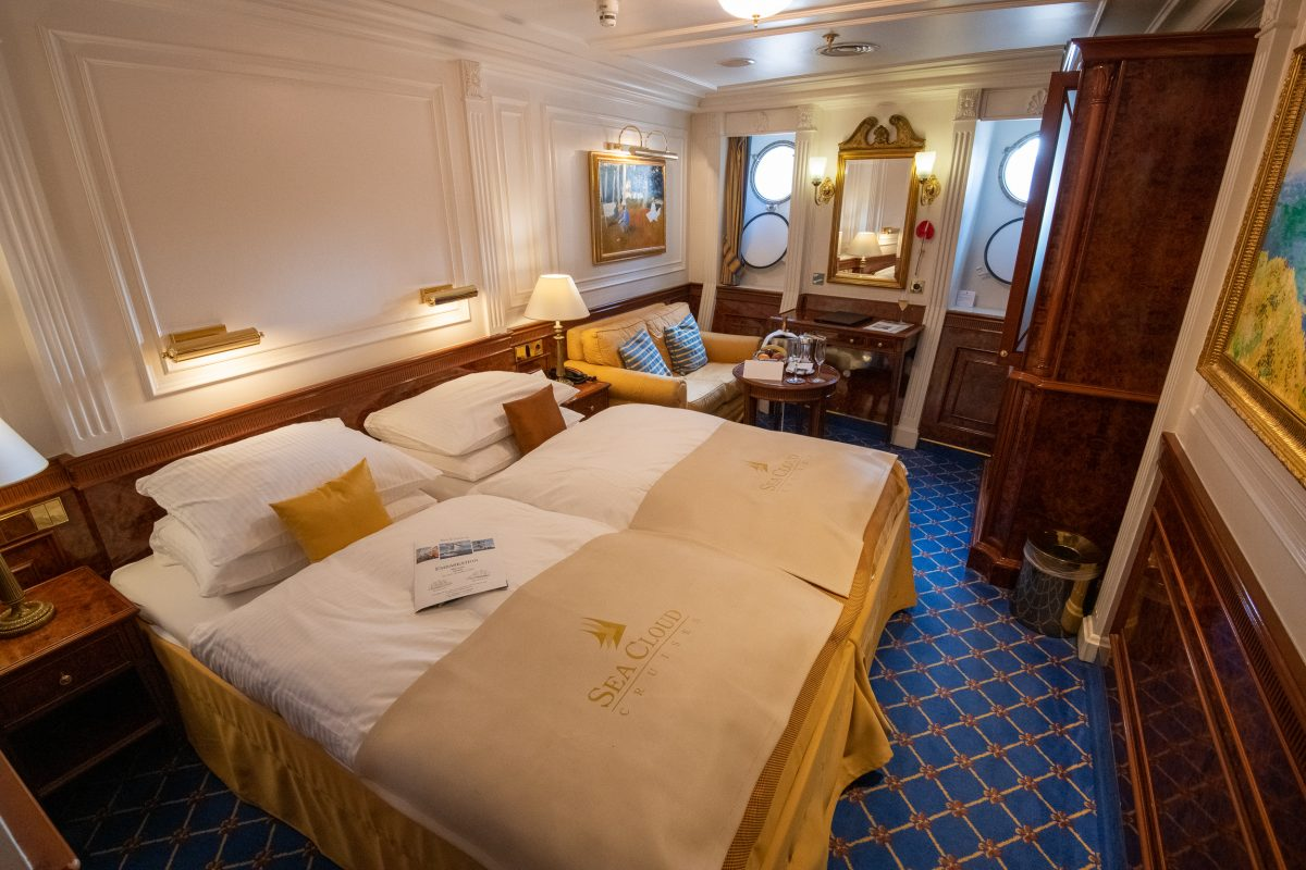 Sea Cloud II cabin