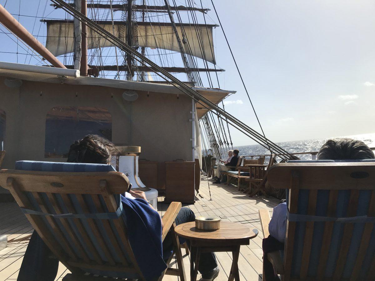 Sea Cloud decks
