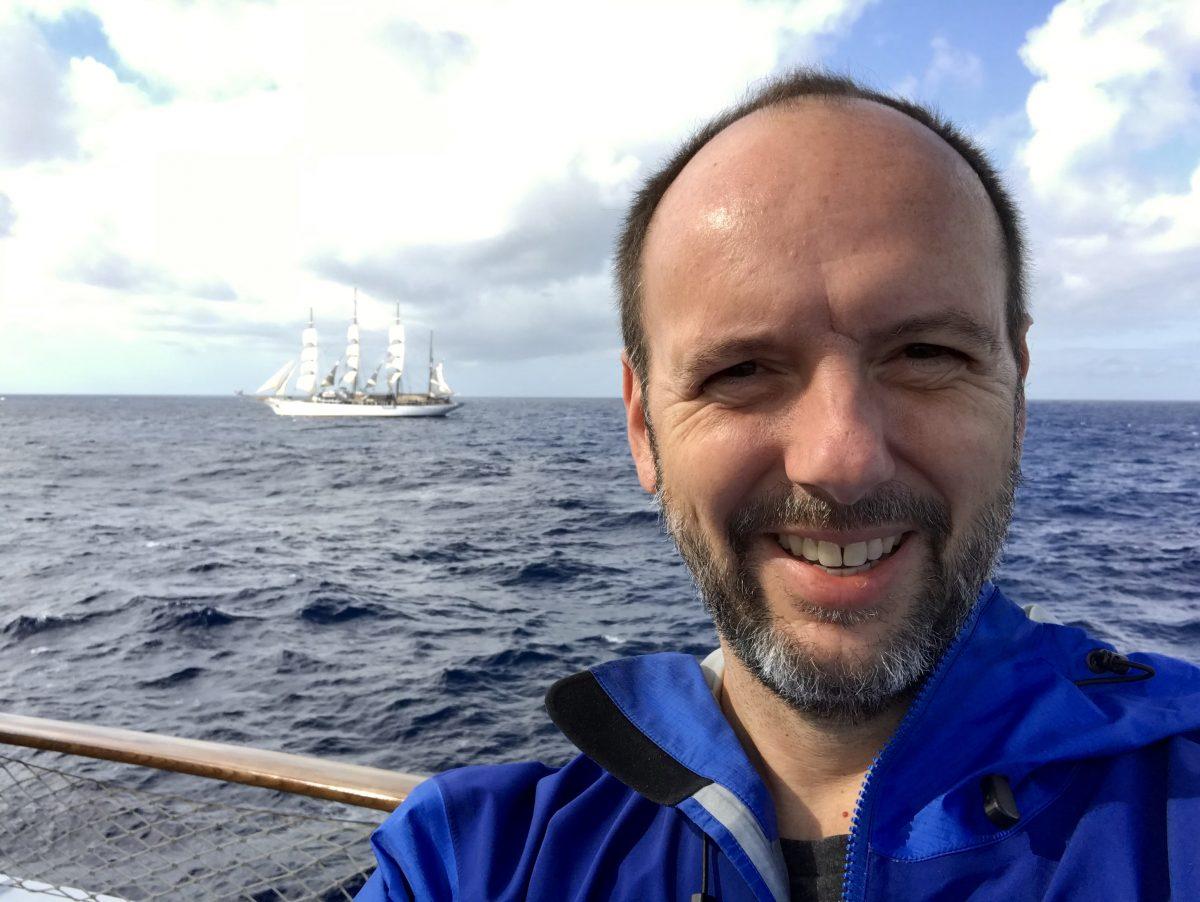 Gene Sloan on a Canary Islands cruise