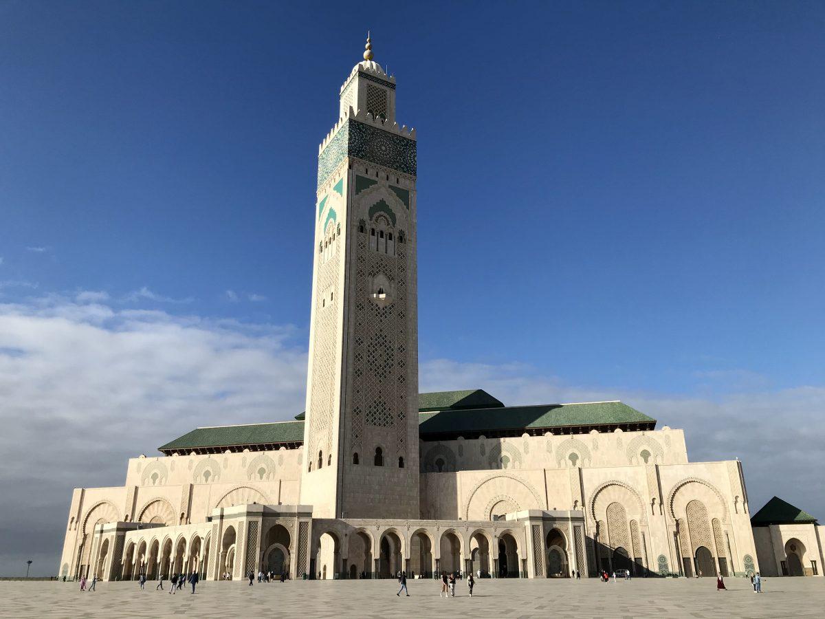 Grand Hassan II Mosque in Rabat