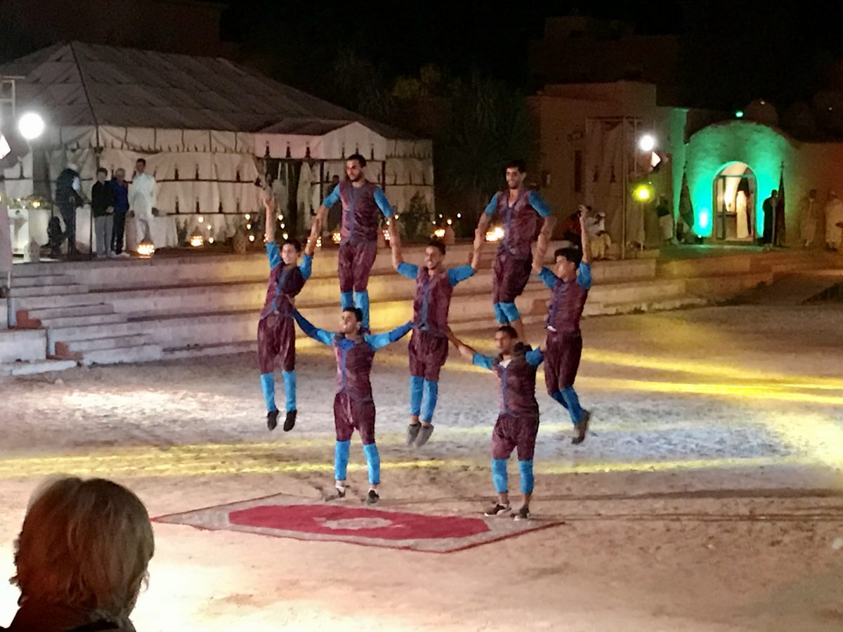 Moroccan-themed entertainment