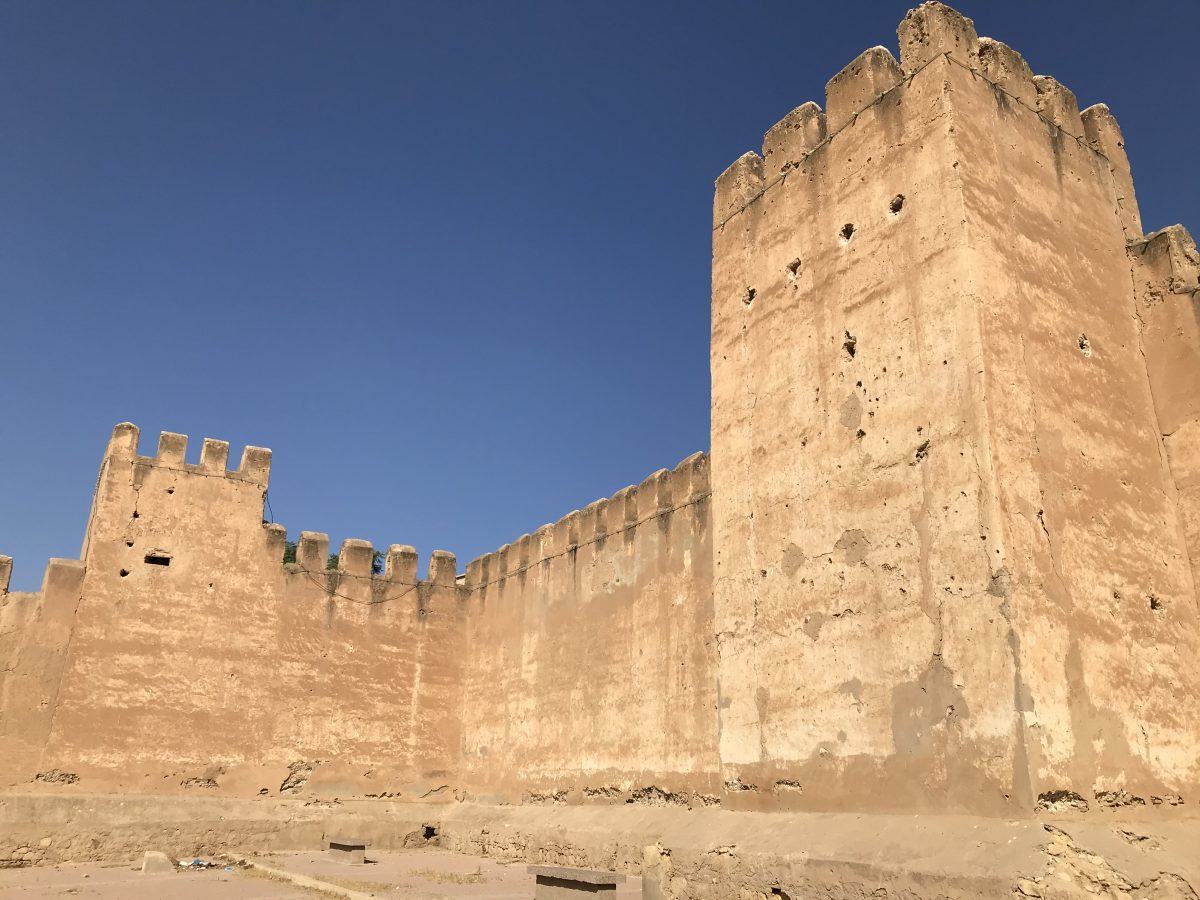 Taroudant old city