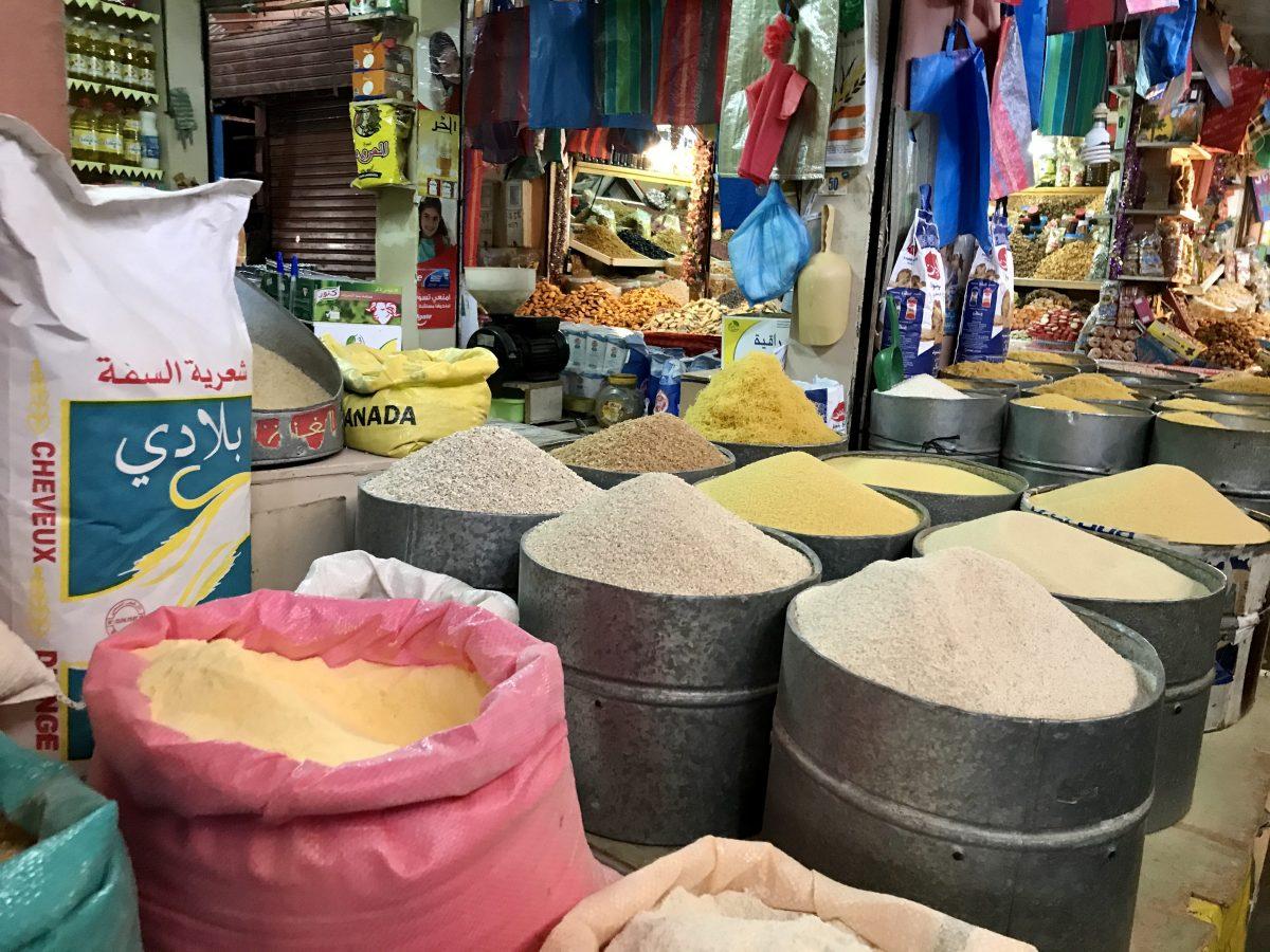 spice market in Taroudant