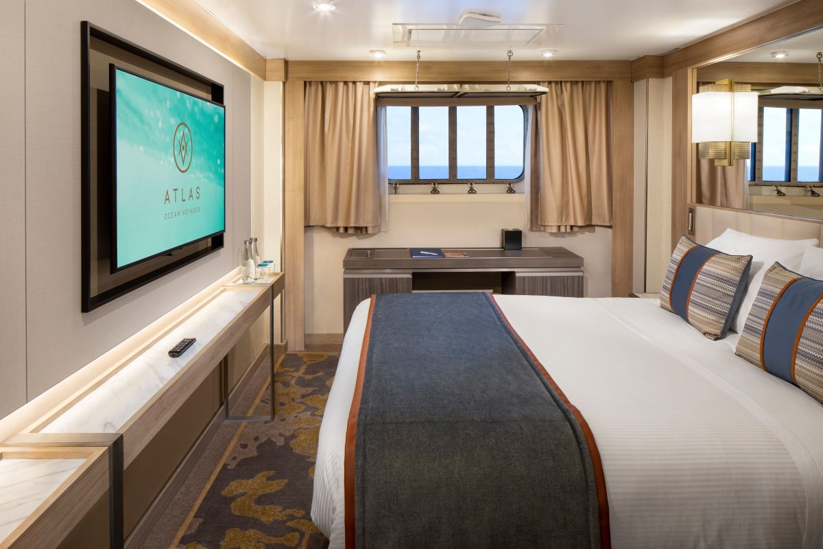 Atlas Ocean Voyages' Adventure Staterooms