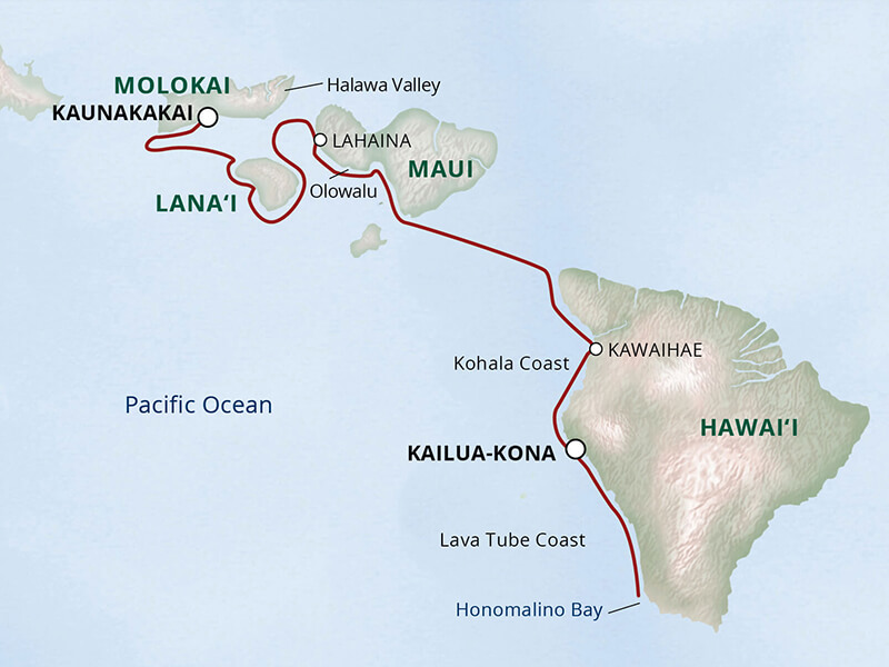 Hawaii cruise with UnCruise