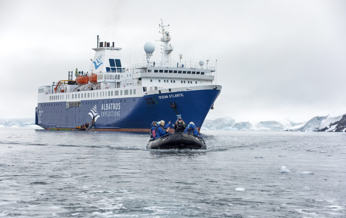 Albatros Expeditions' Ocean Atlantic