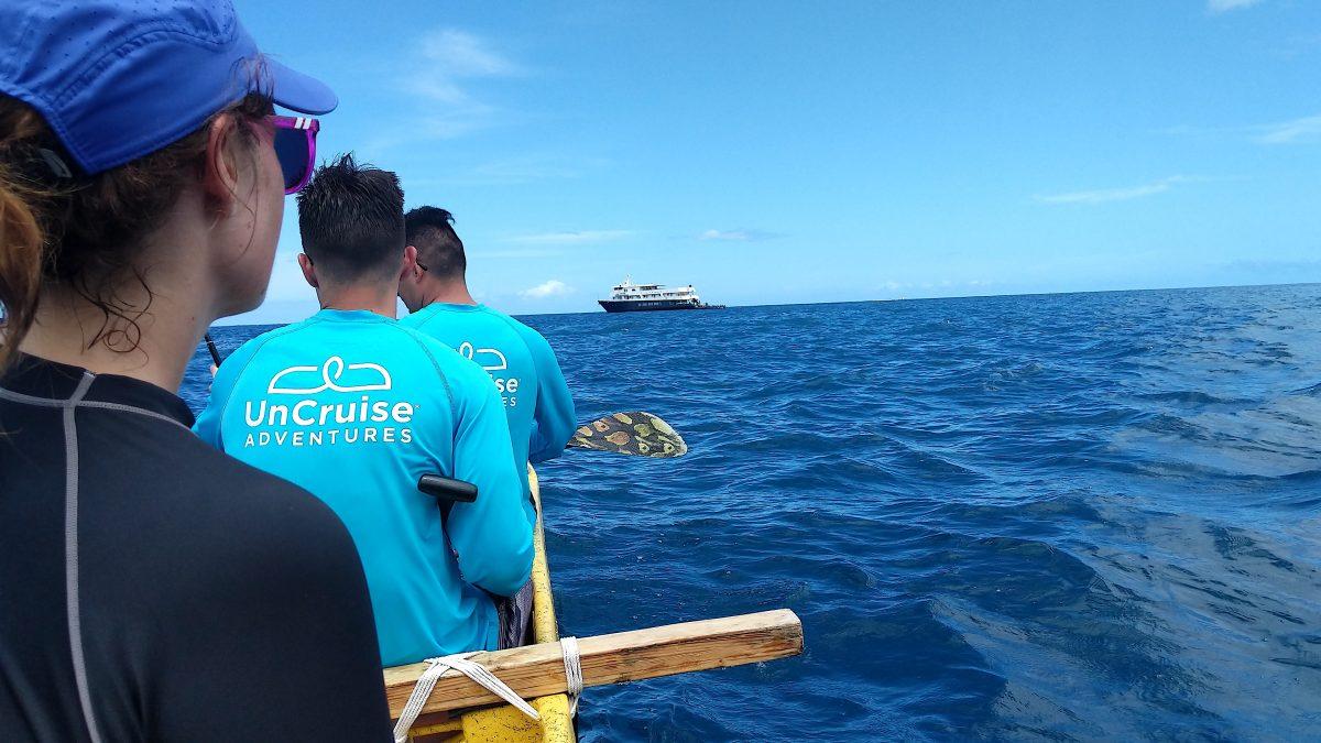 Hawaii cruise canoe