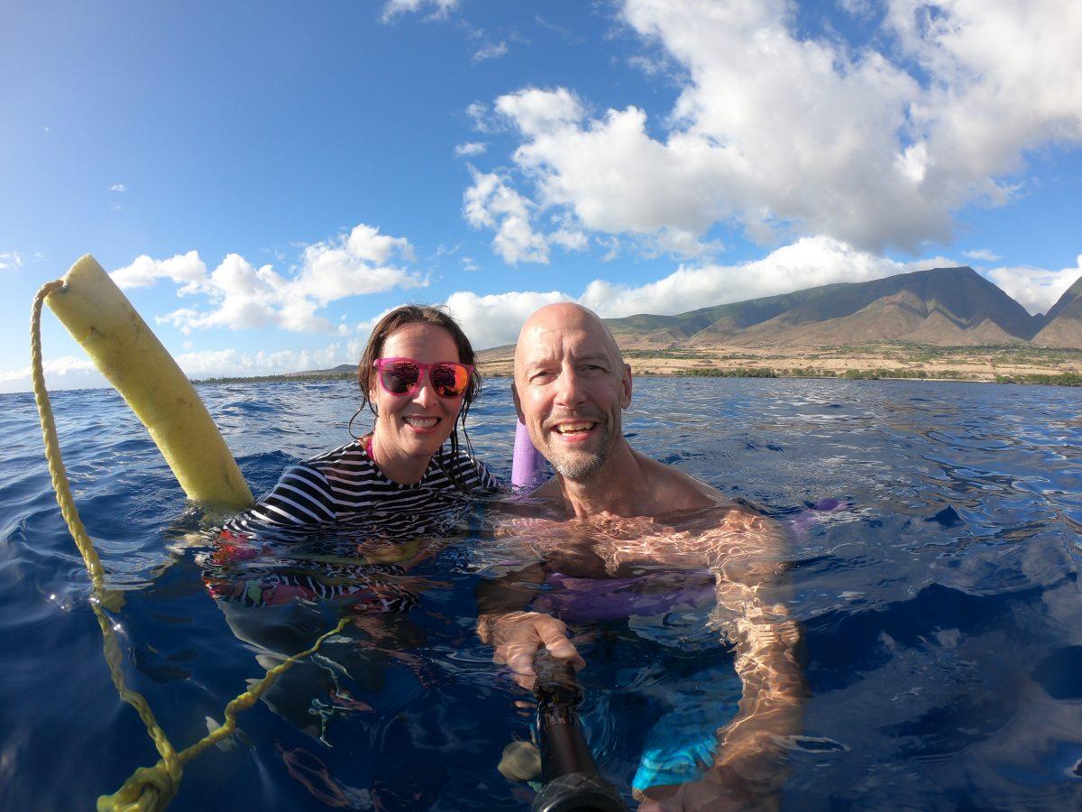 Hawaii cruise swimming