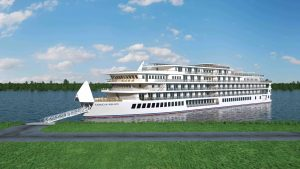 American Melody new for American Cruise Lines