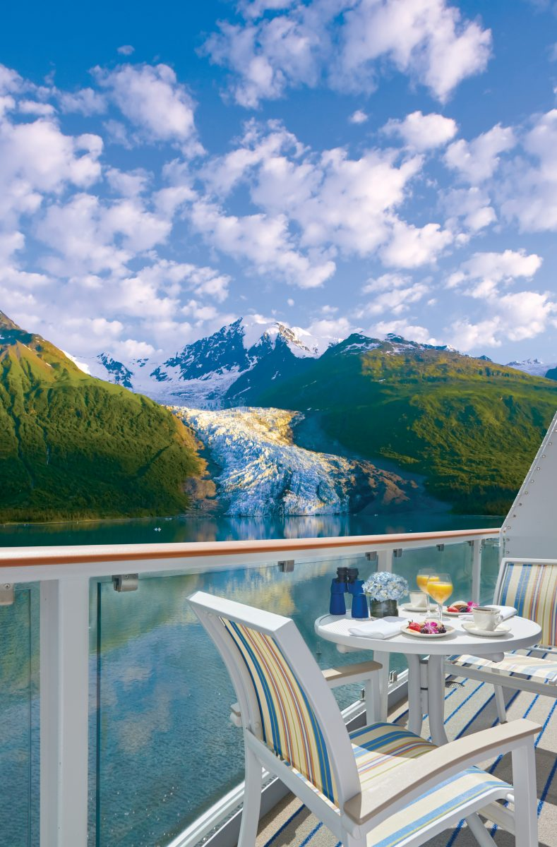 American Cruise Lines balcony view