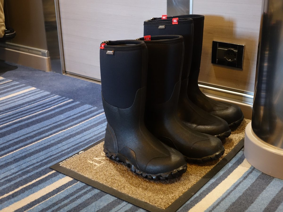 Antarctica excursion boots