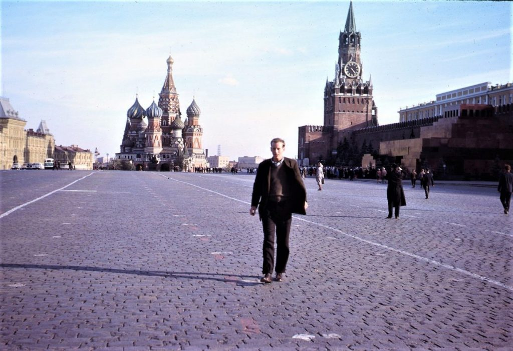 Ted in Red Square