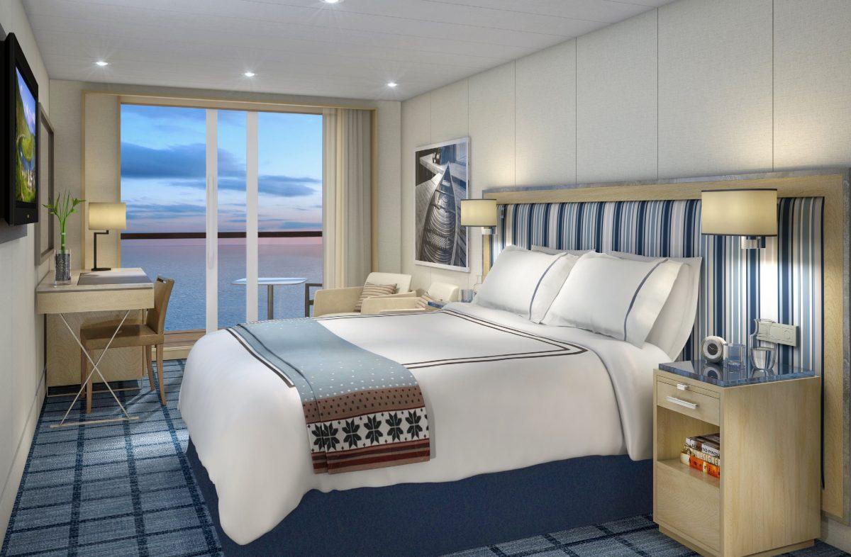 Viking Mississippi's Deluxe Veranda cabin