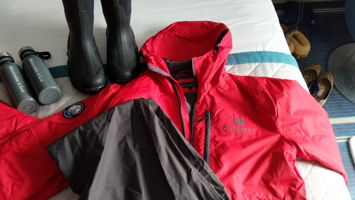 Antarctica cruise gear
