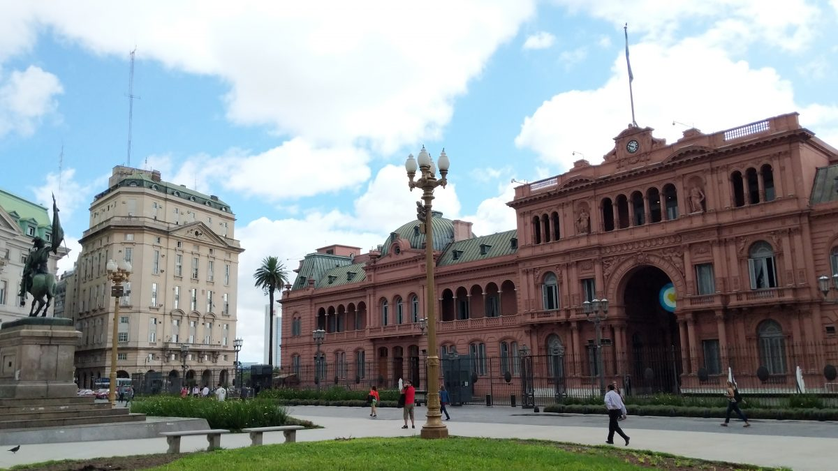 Buenos Aires touring
