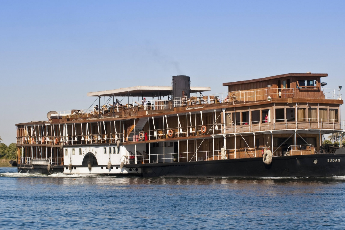 Nile River cruise vessel