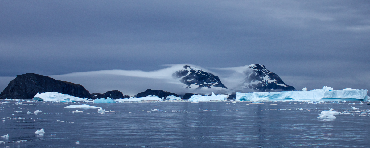Cierva Cove in Antarctica