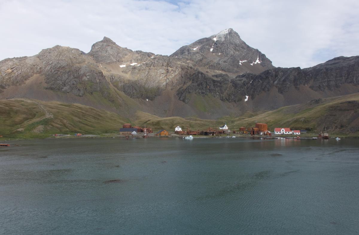 Grytviken in Antarctica