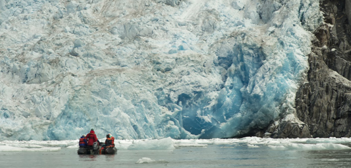 Alaska Expedition cruise excursions in zodiacs