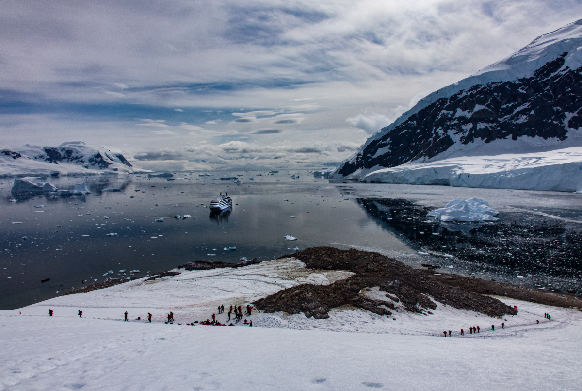 Neko Harbour on an Antarctica cruise