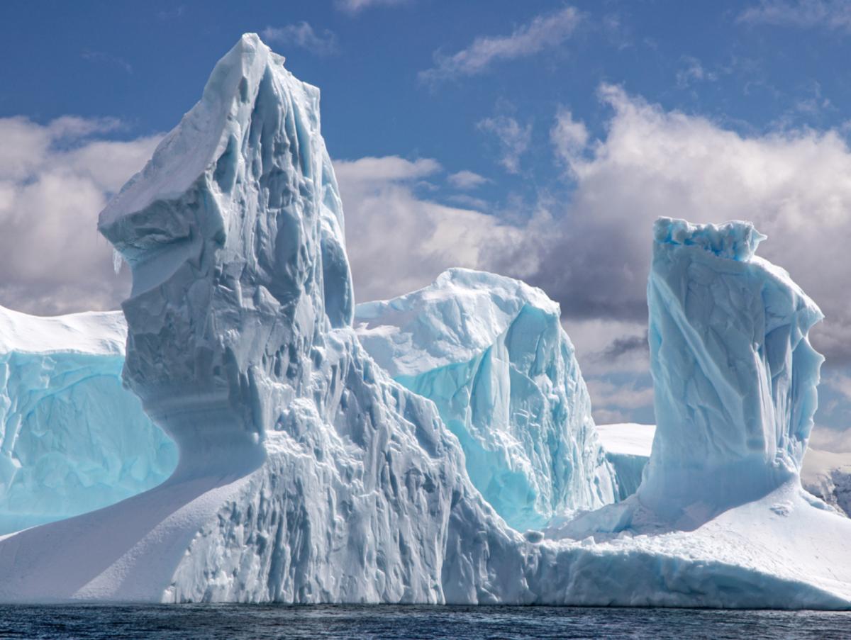 © Rick Sammon Antarctica ice