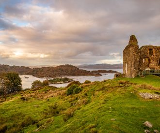 Kyles ruins in Scotland