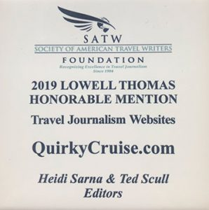 2019 Lowell Thomas Award