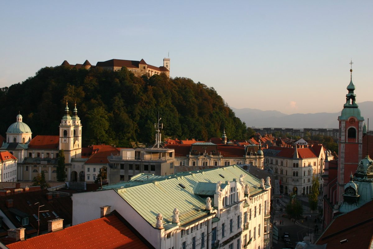 Ljubljana, Slovenia is on Robin McKelvie list of places to travel