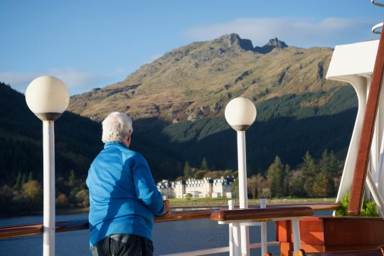Hebridean Princess is on the dream travel list