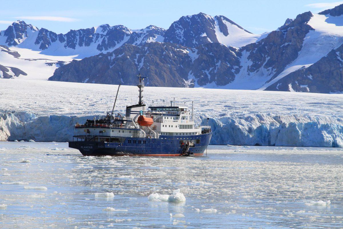 Svalbard's Bukta glacier