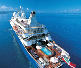 The SeaDream ships in a travel bubble