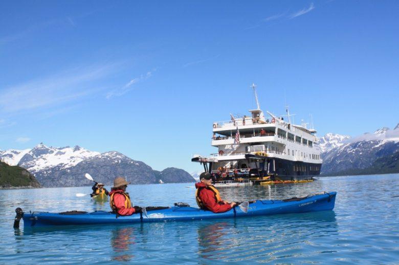 UnCruise USC Kayaking