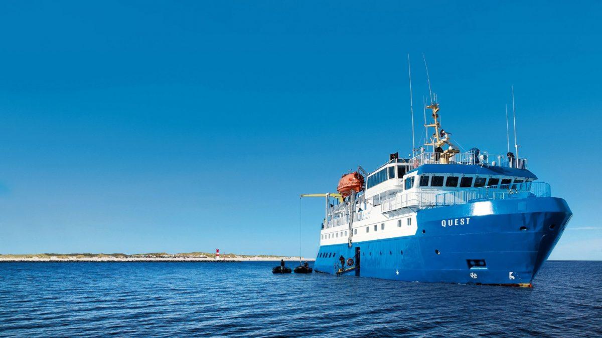 Adler-Schiffe is one of the German lines to restart ocean cruising