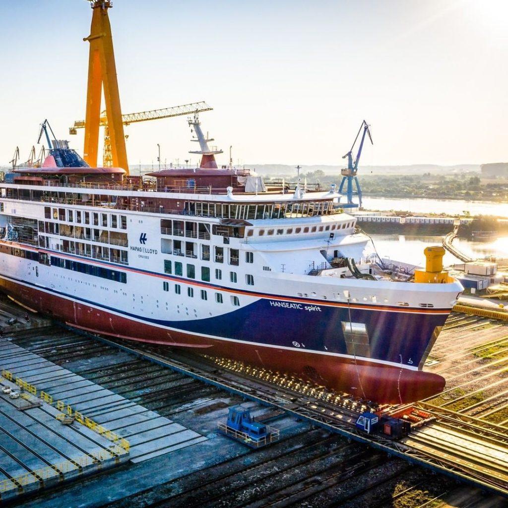 Ocean Cruising Restarts with small ship lines like Hapag Llloyd
