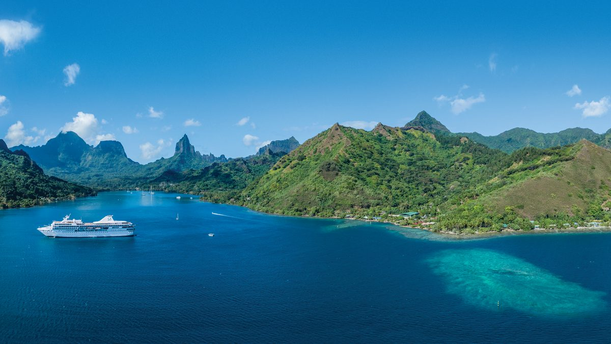 small-ship cruising restarts for Paul Gauguin