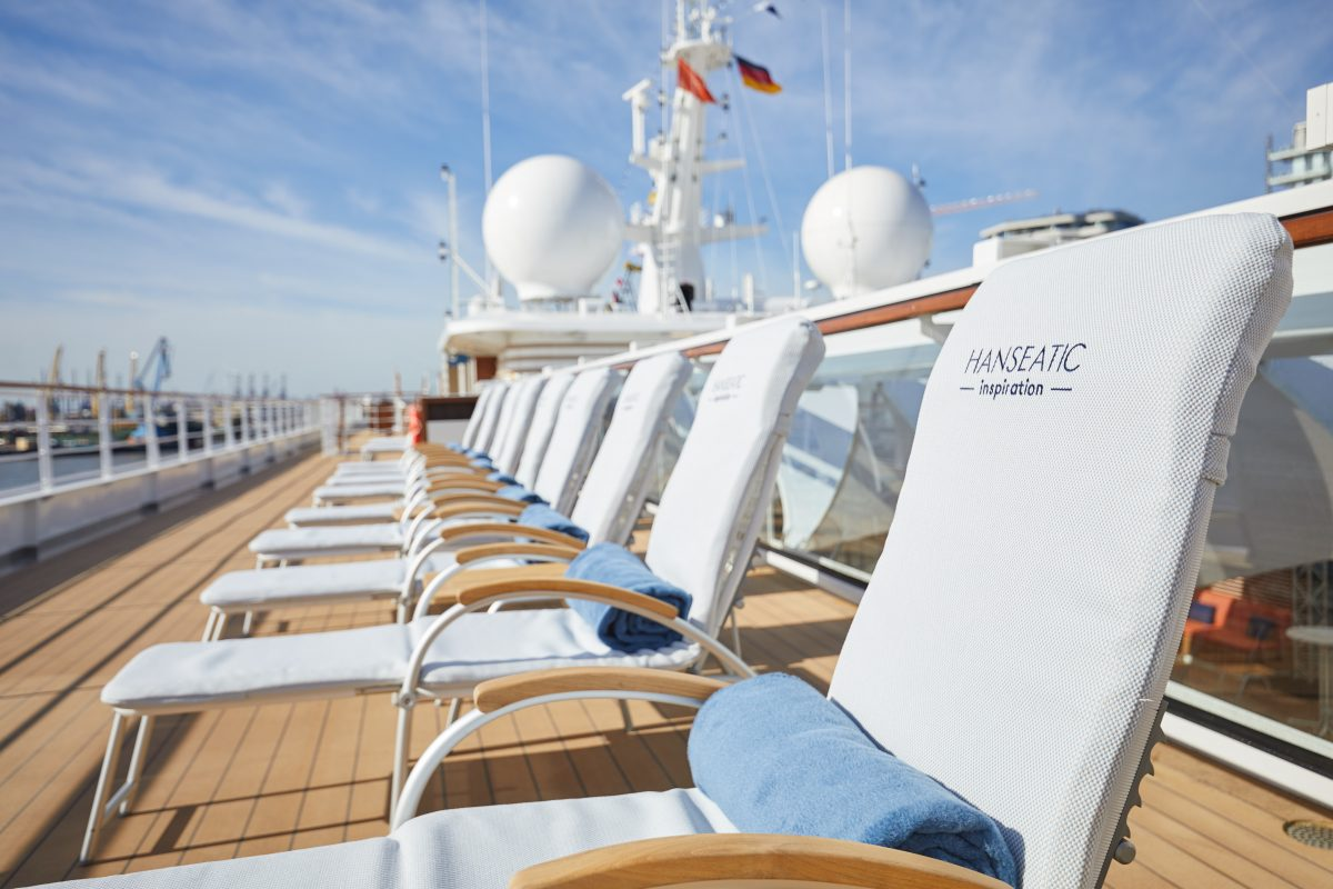 a roomy Lido deck is good for social distancing