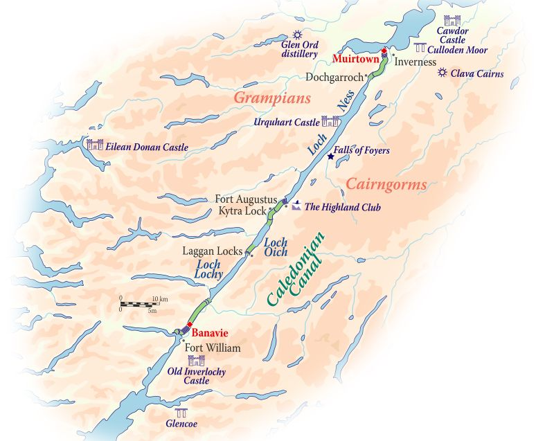 Scotland's Caledonian Canal