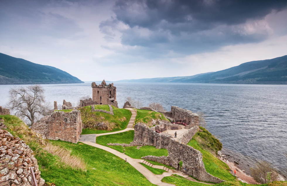 Urquhart Castle on Spirit of Scotland